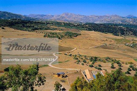 La Serrania de Ronda, Ronda, Andalousie, Espagne Europe