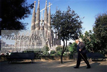 Sagrada Familia cathedral, Barcelona, Catalonia, Spain, Europe