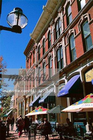 Larimer Square, Denver, Colorado, États-Unis d'Amérique (États-Unis d'Amérique), Amérique du Nord