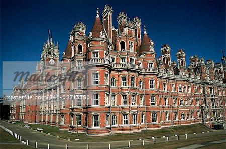 Royal Holloway College, Egham, Surrey, England, United Kingdom, Europe