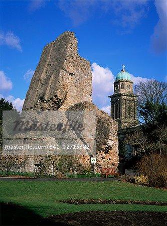 Château de la tour de Pise, Bridgnorth, Shropshire, Angleterre, Royaume-Uni, Europe