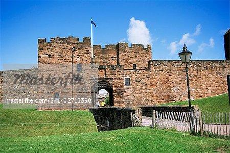 Gatehouse, Carlisle Castle, Carlisle, Cumbria, England, United Kingdom, Europe