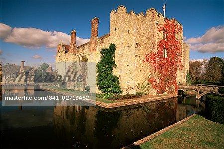 Château de Hever, Kent, Angleterre, Royaume-Uni, Europe