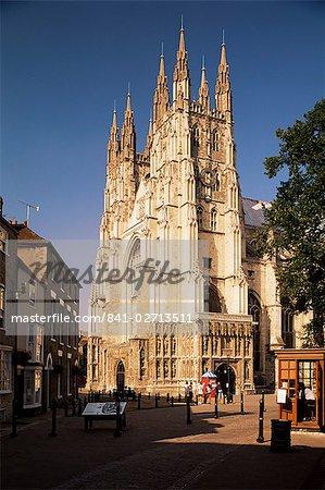 Cathédrale de Canterbury, l'UNESCO World Heritage Site, Kent, Angleterre, Royaume-Uni, Europe