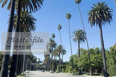 Beverly Drive, Beverly Hills, Californie, États-Unis d'Amérique, l'Amérique du Nord