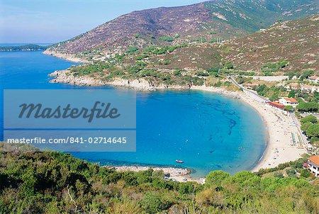 Cavoli beach, Elbe, Livourne province, Toscane, Italie