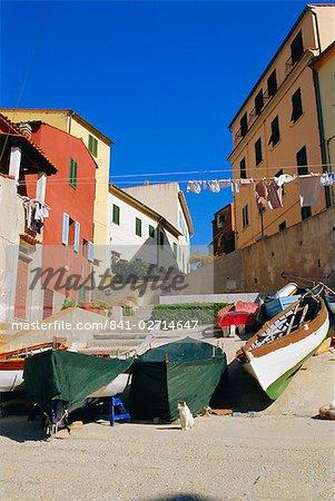Marciana Marina, île d'Elbe, Livorno, Toscane, Italie