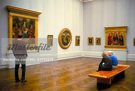 Gemaldegalerie, museum of European painting, Berlin, Germany, Europe