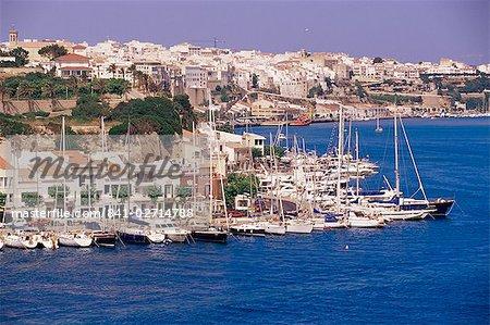 Harbour, Mao', Minorca, Balearic Islands, Spain, Mediterranean, Europe