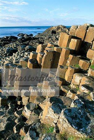 La chaussée des géants, Site du patrimoine mondial de l'UNESCO, comté d'Antrim, Irlande du Nord, Royaume Uni, Europe