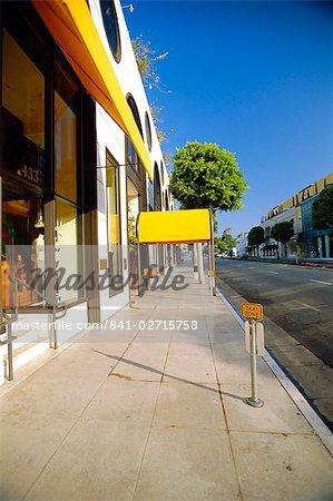 Rodeo Drive, Beverly Hills, Los Angeles, Californie, États-Unis d'Amérique