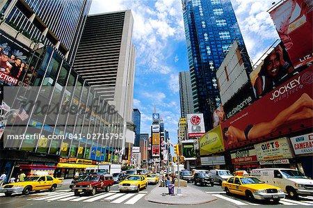 Times Square, New York, États-Unis d'Amérique