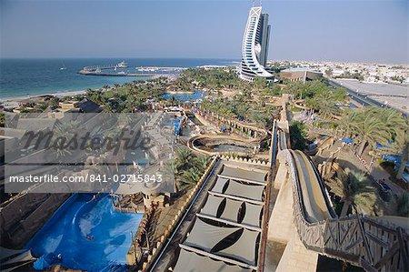 Parc aquatique Wild Wadi fun park. Dubaï, Émirats Arabes Unis, Moyen-Orient