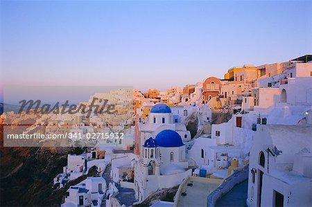 Thira (Fira), Santorini, Cyclades Islands, Greece, Europe