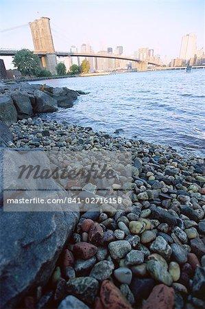 East River, New York City, New York, États-Unis d'Amérique, l'Amérique du Nord