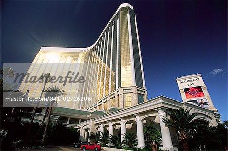 L'hôtel Mandalay Bay, Las Vegas, Nevada, États-Unis d'Amérique, l'Amérique du Nord