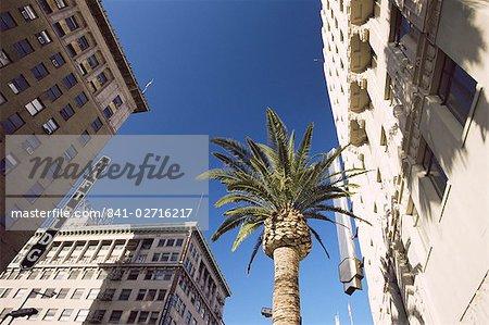 Bâtiments à Hollywood and Vine, Los Angeles, Californie, États-Unis d'Amérique, l'Amérique du Nord