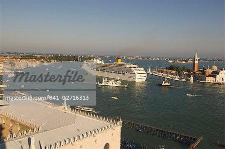 Bateau de croisière, Venise, Italie