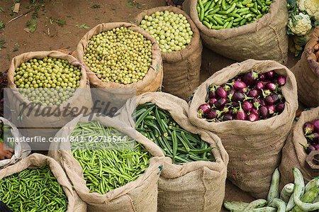 Bags of Produce, Trivandrum, Kerala, India