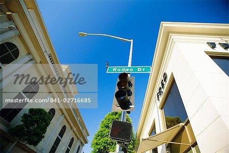 Rodeo Drive, Los Angeles, Californie, États-Unis d'Amérique
