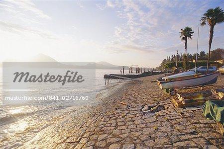 Stresa, Lake Maggiore, Italy (Misty)