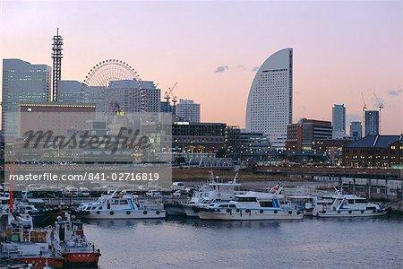 Port de Yokohama, Yokohama, Japon