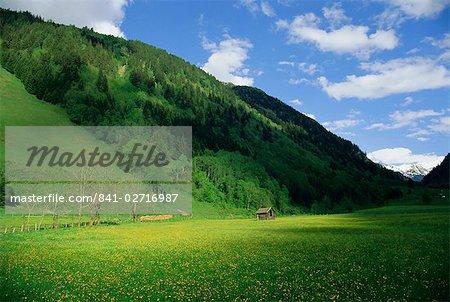 Vallée de Stubachtal, Parc National de Hohe Tauern, Salzburgland, Alpes autrichiennes, Autriche, Europe