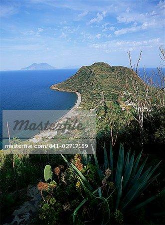 L'île de Filicudi, Iles Eoliennes (îles Eoliennes) (îles Lipari), l'UNESCO World Heritage Site, Italie, Europe