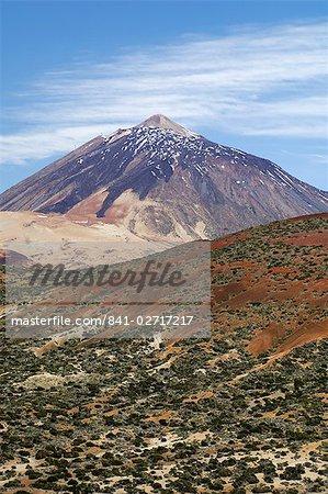 Parc National du Teide, volcan Teide (Pico de Teide), Tenerife, îles Canaries, Espagne