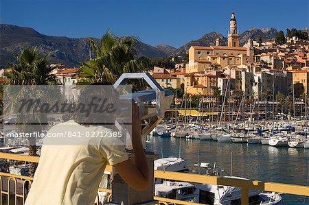 Menton, Alpes-Maritimes, Provence, Côte d'Azur, French Riviera, France, méditerranéenne, Europe