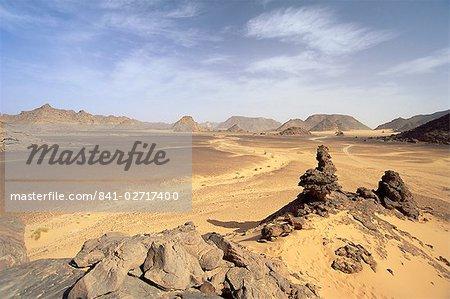 Akakus, Sahara Desert, Fezzan, Libya, North Africa, Africa