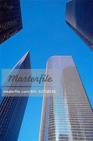 Immeubles de bureaux dans le quartier des affaires du centre-ville, Los Angeles, Californie, États-Unis d'Amérique, Amérique du Nord