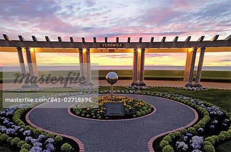 Public plaza in the Art Deco city of Napier, North Island, New Zealand, Pacific