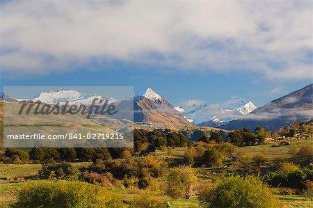 Rob Roy Peak et le Mont aspirant, Wanaka, Central Otago, île du Sud, Nouvelle-Zélande, Pacifique