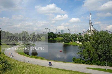 Olympiapark, Munich (Munchen), Bavaria, Germany, Europe