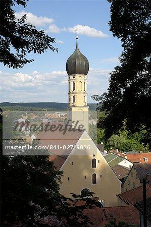 Wolfrathausen, near Munich, Bavaria, Germany, Europe