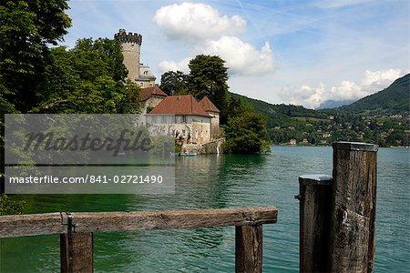 Château de Duingt, lac d'Annecy, Annecy, Rhone Alpes, France, Europe