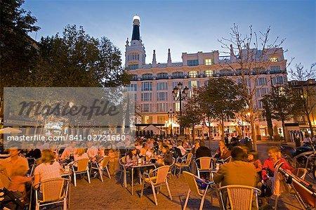 Santa Ana Square, Madrid, Spain, Europe