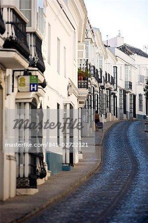 Vieille ville, Medina Sidonia, Cadix province, Andalousie, Espagne, Europe