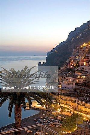 Positano, Amalfi coast, UNESCO World Heritage Site, Campania, Italy, Europe