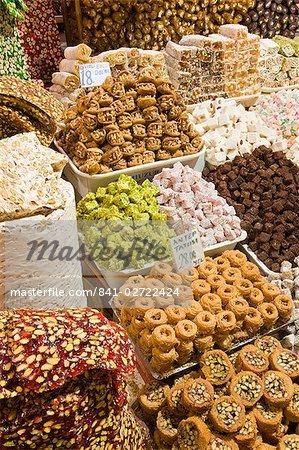 Le Spice Bazaar, Sultanahmet, Istanbul, Turquie, Europe