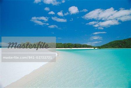 Whitehaven Beach on the east coast, Whitsunday Island, Queensland, Australia