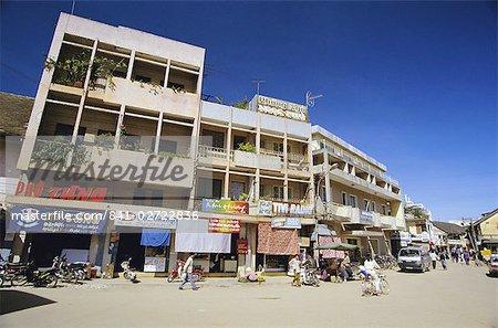 Nguyen Van Troi Street, Dalat, hauts plateaux du centre, au Vietnam, Indochine, Asie du sud-est, Asie