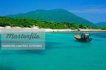 L'île d'ébène (Hon Mun), Nha Trang, Vietnam, Asie