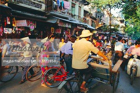 Vieux quart, Hanoi, Vietnam, Asie