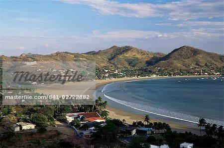 The bay at San Juan del Sur, south coast, Pacific, Nicaragua, Central America