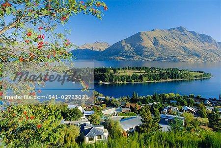 Queenstown, Lake Wakatipu, Otago, South Island, New Zealand, Australasia