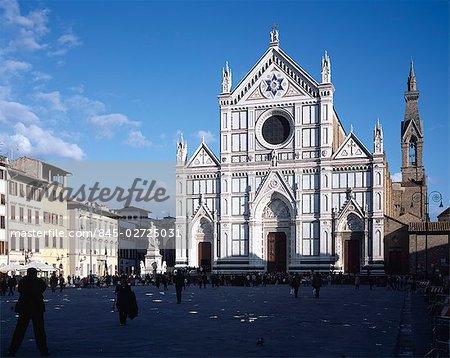 Church of Santa Croce, Florence, Tuscany.