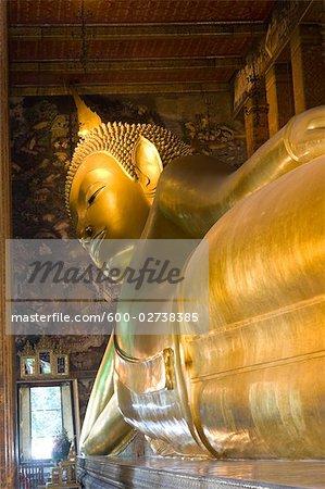 Temple du Bouddha couché, Bangkok, Thaïlande