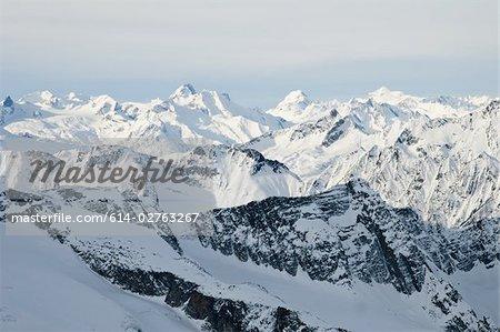 Les monts Selkirk